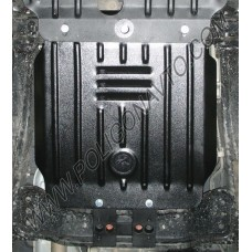Защита КПП Fiat Fullback 2016-2017+