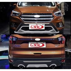 Накладки на бампера Форд Куга 2017+