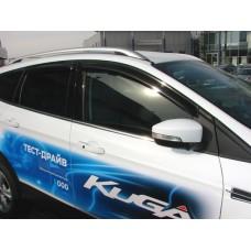 Дефлекторы окон, ветровики Ford Kuga 2017+