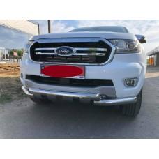 Защита переднего бампера Ford Ranger 2020+