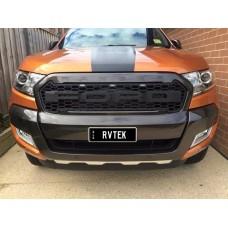 Решетка радиатора Ford Ranger 2016-2017+ Raptor стиль