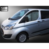 Дефлекторы оконо SIM Ford Transit Custom