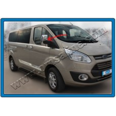 Хром на зеркала Ford Transit Custom 2012+