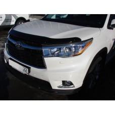 Дефлектор капота SIM для Toyota Highlander 2014+