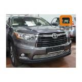 Решетка бампера для Toyota Highlander 2014+
