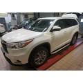 Пороги Alyans для Toyota Highlander 2014+