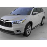 Пороги V2 Toyota Highlander 2014+