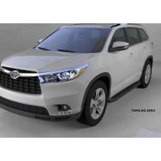 Подножки для Toyota Highlander 2014+