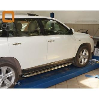 Подножки для Toyota Highlander 2010+