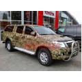 Кенгурятник высокий Toyota Hilux