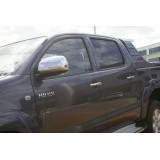 Хром на ручки Toyota Hilux
