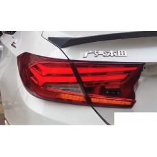 Светодиодные задние LED фонари Honda Accord 10
