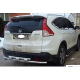 Защита заднего бампера Honda CR-V 2012+