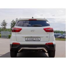 Защита заднего бампера Hyundai Creta