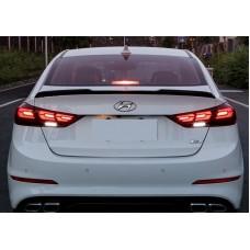 Тюнингованные задние фонари Hyundai Elantra 2017-2018+