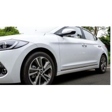 Хром молдинги Hyundai Elantra 2016-2017+