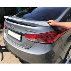 Спойлер на багажник Hyundai Elantra 2012+