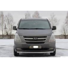 Защита переднего бампера Hyundai H1 2008+