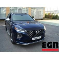 Дефлектор капота EGR Hyundai Santa Fe 2019-2020+