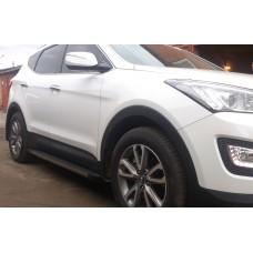 Пороги Hyundai Santa Fe 2013+