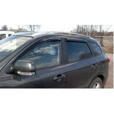 Дефлекторы окон Hyundai Santa Fe 2006+