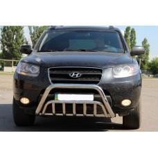 Кенгурятник Hyundai Santa Fe 2006+