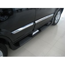 Пороги боковые Hyundai Santa Fe 2006+