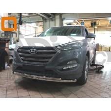 Защита переднего бампера Can Otomotiv Tucson 2016-2017+