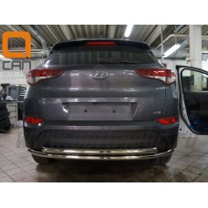 Защита заднего бампера для Hyundai Tucson 2017-2018+