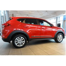 Молдинги на двери Hyundai Tucson 2017-2018+