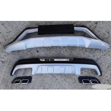 Накладки на бампера Hyundai Tucson 2015-2019