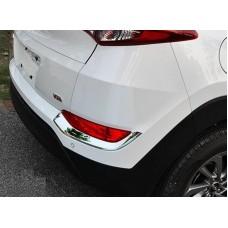 Хром на туманки Hyundai Tucson 2017+