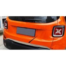 Хром на крышку багажника Jeep Renegade 2016-2017+