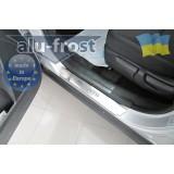 Накладки Alufrost на пороги Kia Sorento 2013+