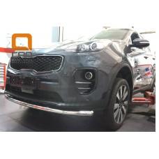Защита переднего бампера Kia Sportage 2017+