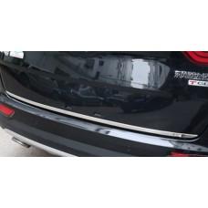 Хром багажника низ Kia Sportage 2016-2017+