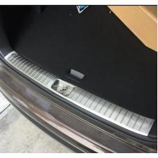 Накладка на задний бампер внутренняя Kia Sportage 2016-2017+