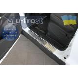 Накладки на пороги Alufrost для Ford Kuga 2013+