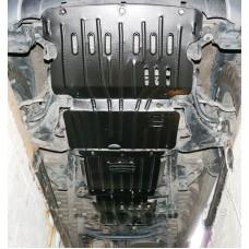Комплект защит днища Mitsubishi L200 2008-2015+