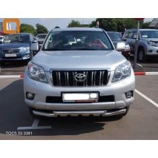 Защита переднего бампера Toyota Prado 150 2009+