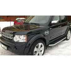 Пороги Land Rover Discovery 4