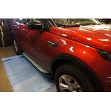 Пороги BMW стиль Land Rover Discovery Sport