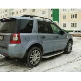 Пороги Land Rover Freelander