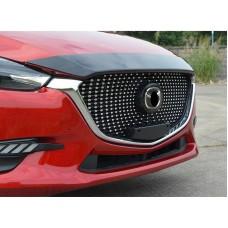 Решетка радиатора Mazda 3 2017+ Diamond стиль