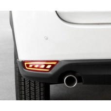 LED вставки катафоты в задний бампер Mazda CX5 2017+