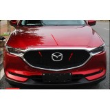 Хром накладка на кромку капота Mazda CX5 2018+