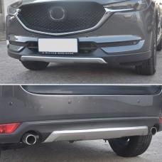 Mazda CX 5 2017+ накладки на бампера