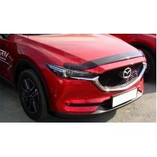 Дефлектор капота Mazda CX5 2017+