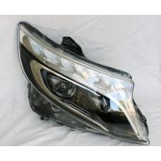 Передняя Full Led оптика Mercedes Benz Vito Viano W447 под оригинал