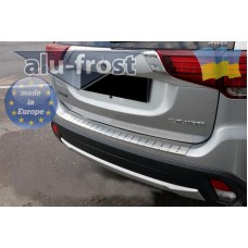 Накладка на задний бампер Alufrost Mitsubishi Аутлендер 2017+